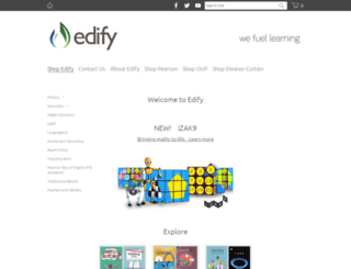 edify.co.nz screenshot