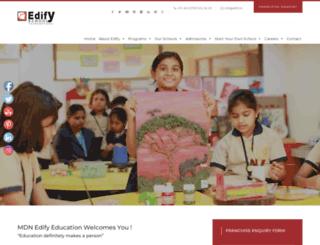 edifyschools.com screenshot