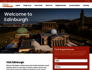 edinburgh.org screenshot