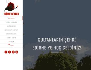 edirnerehber.com screenshot