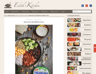 edithskitchen.ro screenshot