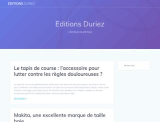 editionsduriez.fr screenshot