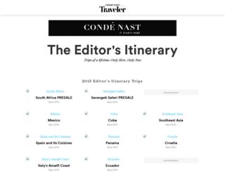 editorsitinerary.cntraveler.com screenshot