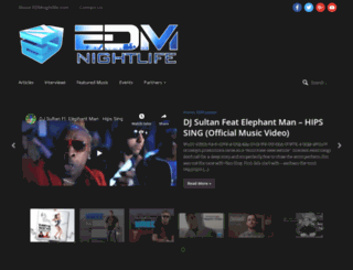 edmnightlife.com screenshot