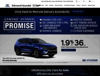 edmondhyundai.com screenshot