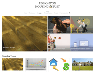 edmontonhousingbust.com screenshot
