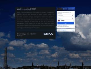 edms.enka.com screenshot