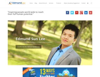 edmundslee.com screenshot