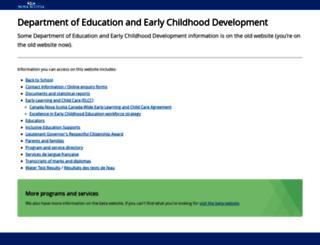 ednet.ns.ca screenshot