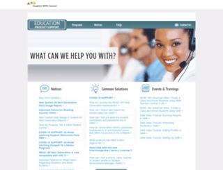 edproductsupport.scholastic.com screenshot