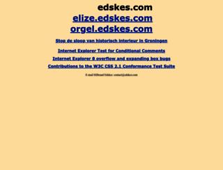 edskes.com screenshot