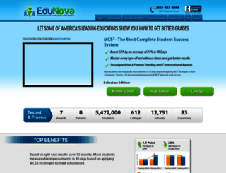 edu-nova.com screenshot