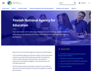edu.fi screenshot