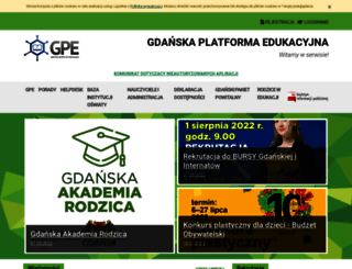 edu.gdansk.pl screenshot