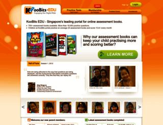 edu.koobits.com screenshot