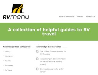 edu.rvmenu.com screenshot