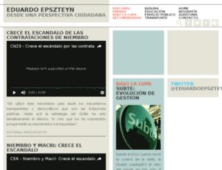 eduardoepszteyn.com.ar screenshot