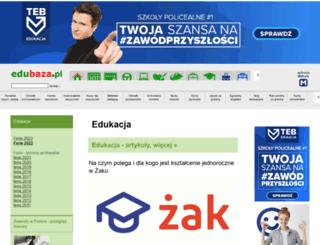 edubaza.pl screenshot
