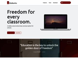 edubuntu.org screenshot
