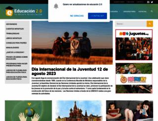 educacion2.com screenshot