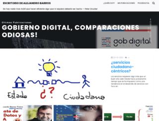 educacionparalavida.bligoo.com screenshot