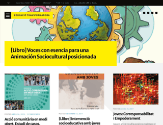educaciotransformadora.wordpress.com screenshot