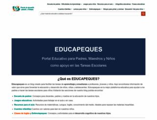 educapeques.com screenshot