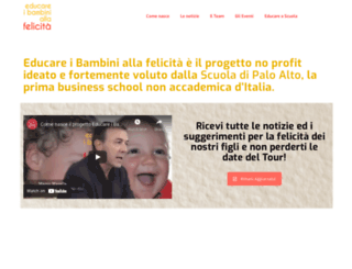 educareibambiniallafelicita.it screenshot