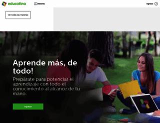 educatina.com screenshot