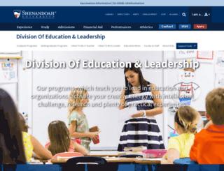 education.su.edu screenshot
