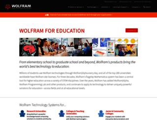 education.wolfram.com screenshot