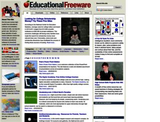 educational-freeware.com screenshot