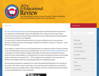 educationalrev.us.edu.pl screenshot