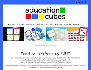 educationcubes.com screenshot
