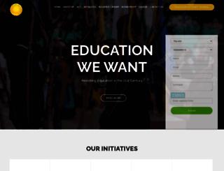 educationwewant.org screenshot