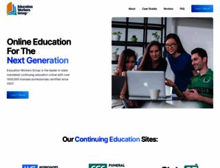 educationworkersgroup.com screenshot