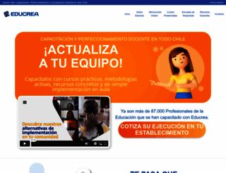 educrea.cl screenshot