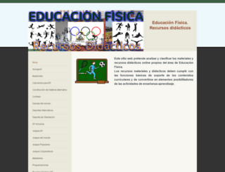 edufisrd.weebly.com screenshot