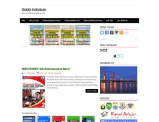 edukasipalembang.blogspot.com screenshot