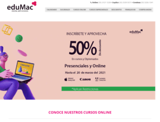 edumac.com.mx screenshot