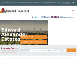 edward-alexander.co.uk screenshot