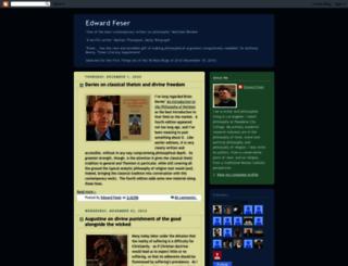 edwardfeser.blogspot.com screenshot