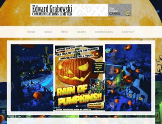edwardgrabowski.com screenshot