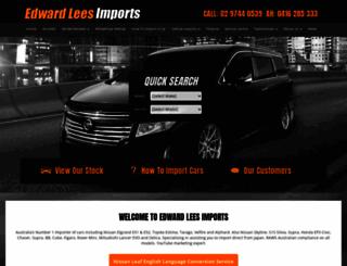 edwardlees.com.au screenshot