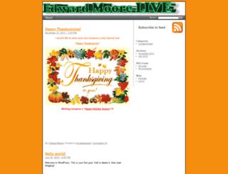 edwardmoorelive.com screenshot