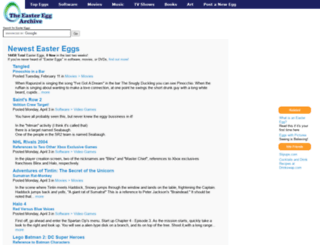 eeggs.com screenshot