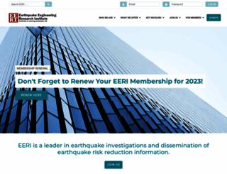 eeri.org screenshot