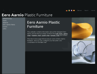 eero-aarnio.com screenshot