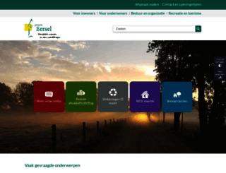 eersel.nl screenshot