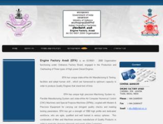 efa.gov.in screenshot